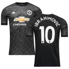 manchester united udebanetrøje 2017/18 ibrahimovic 10 børn - fodboldtrøjer