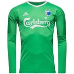 f.c. københavn målmandstrøje 2017/18 grøn - fodboldtrøjer