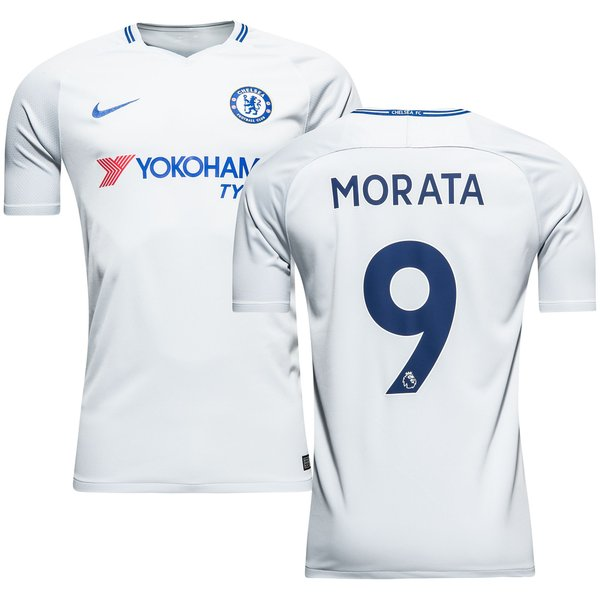 Chelsea Maillot Ext Rieur 2017 18 Morata 9 Www