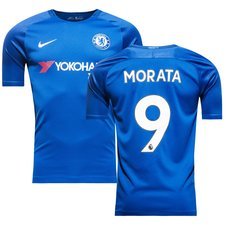 chelsea home shirt 2017/18 morata 9 - football shirts