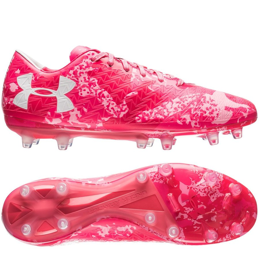 under armour clutchfit force 3 0 fg power in pink roze limited edition. Black Bedroom Furniture Sets. Home Design Ideas