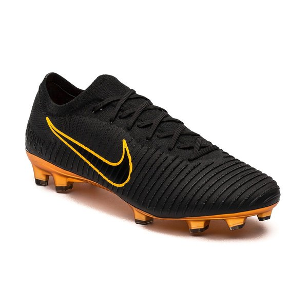b037bd426939c Nike Mercurial Ultra Flyknit Vapor FG - Black Orange LIMITED EDITION ...