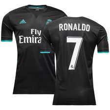real madrid away shirt 2017/18 ronaldo 7 - football shirts