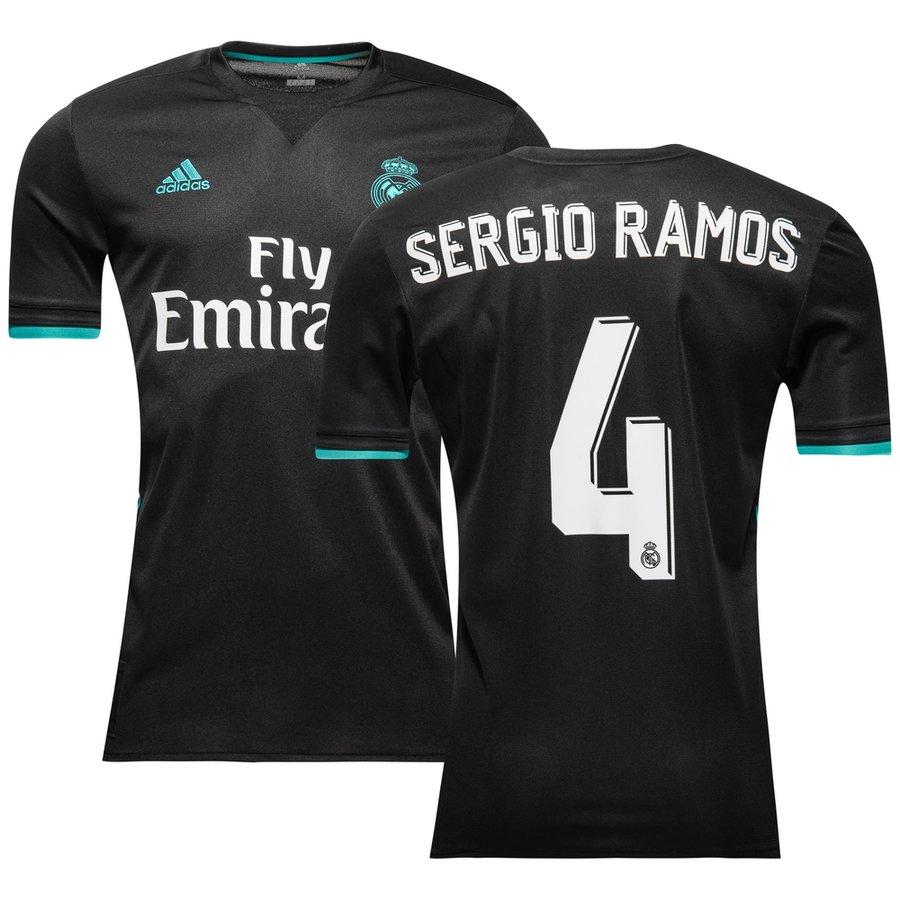 22b966d33ee real madrid away shirt 2017 18 sergio ramos 4 - football shirts