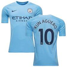 Manchester City Hjemmebanetrøje KUN AGÜERO 10