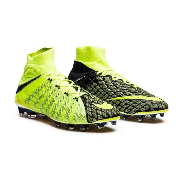 eb9821890 Nike x EA SPORTS Hypervenom Phantom 3 DF FG - Volt Black Total Crimson