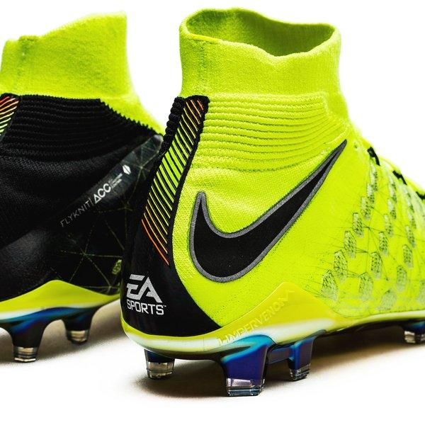 reputable site a9147 004b8 Nike x EA SPORTS Hypervenom Phantom 3 DF FG - Volt/Black ...