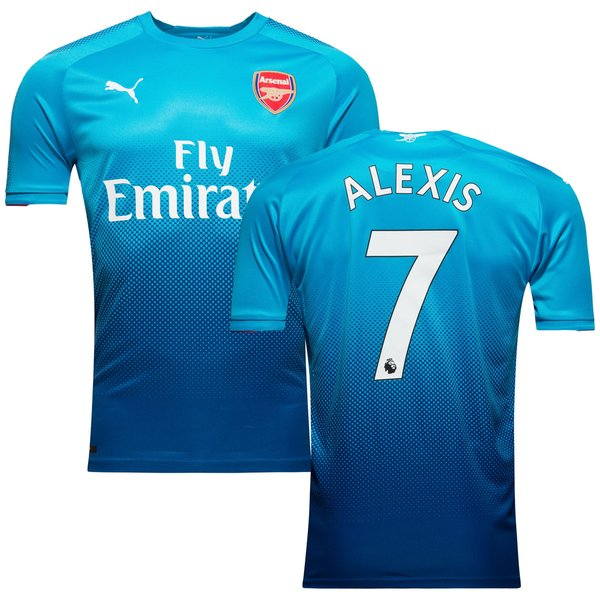 Arsenal maillot ext rieur 2017 18 alexis 7 www for Maillot arsenal exterieur 2017