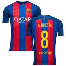 Barcelona Hjemmebanetrøje 2016/17 A. INIESTA 8 Børn