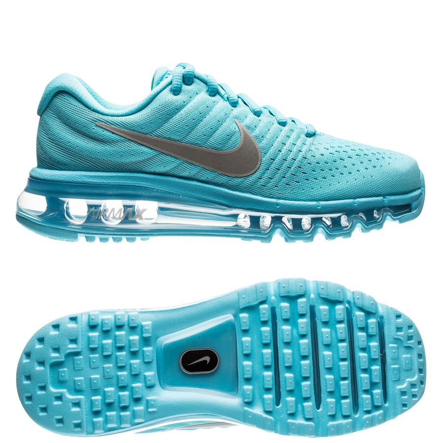 Nike Air Max 2017 Polarized BlueMetallic Silver Kids