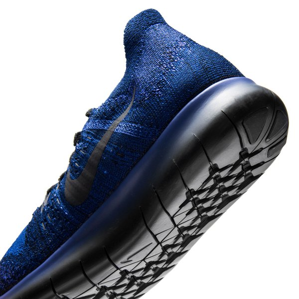 best sneakers c372f bae3a Nike Free RN Flyknit 2017 - Deep Royal Blue Black Persian Violet Kids