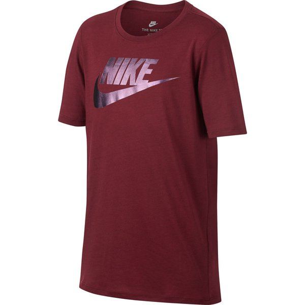 nike t-shirt nsw colorshift - bordeaux børn - t-shirts