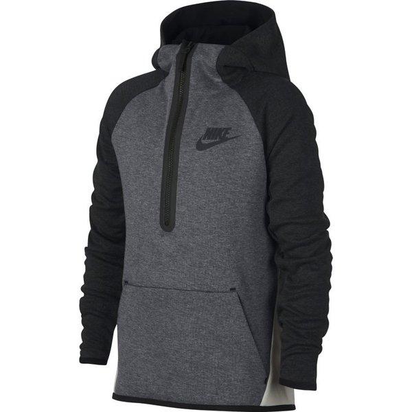Nike Bomberjacke NSW Tech Fleece Grau Kinder