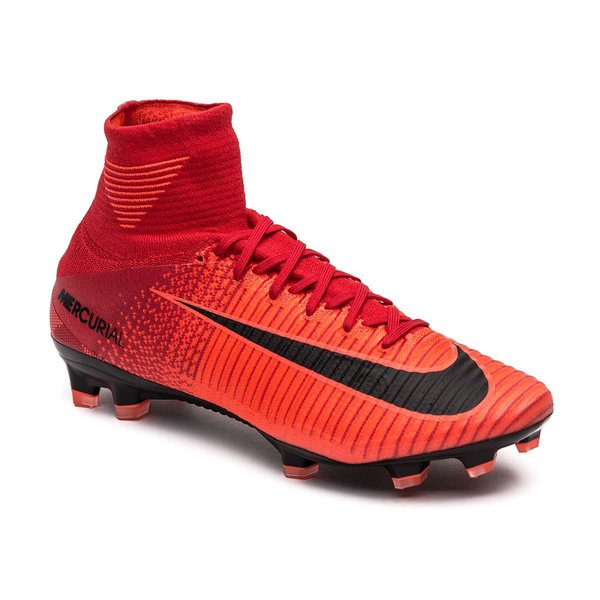look good shoes sale separation shoes the cheapest Nike Mercurial Superfly V FG Fire - Röd/Svart