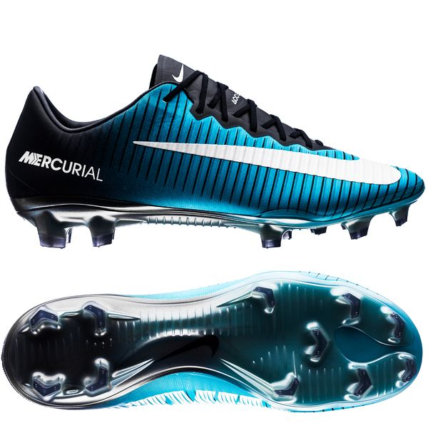wholesale dealer 866f2 07e69 Nike Mercurial Vapor XI FG Ice - Obsidian/White/Gamma Blue ...