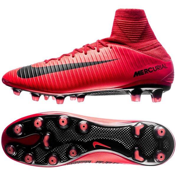 best website 2f2b3 1df22 Nike Mercurial Veloce III DF AG-PRO Fire - Rouge Noir 0
