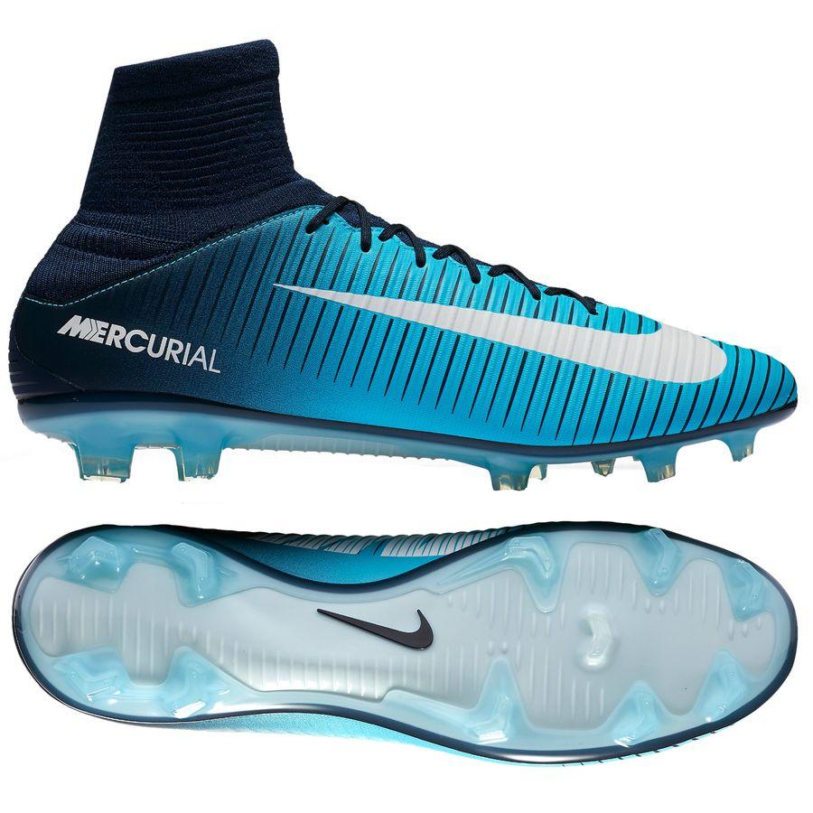 Nike Mercurial Veloce Blå Græs (FG) Mænd