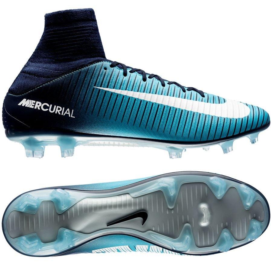 3538e0770 Nike Mercurial Veloce III DF FG Ice - Obsidian White Gamma Blue ...