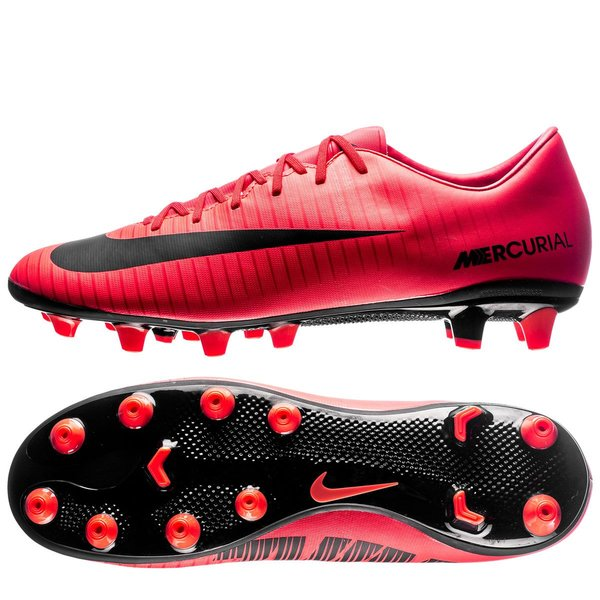 nike mercurial victory vi ag-pro fire - university red black - football  boots ... fd93f555542dc