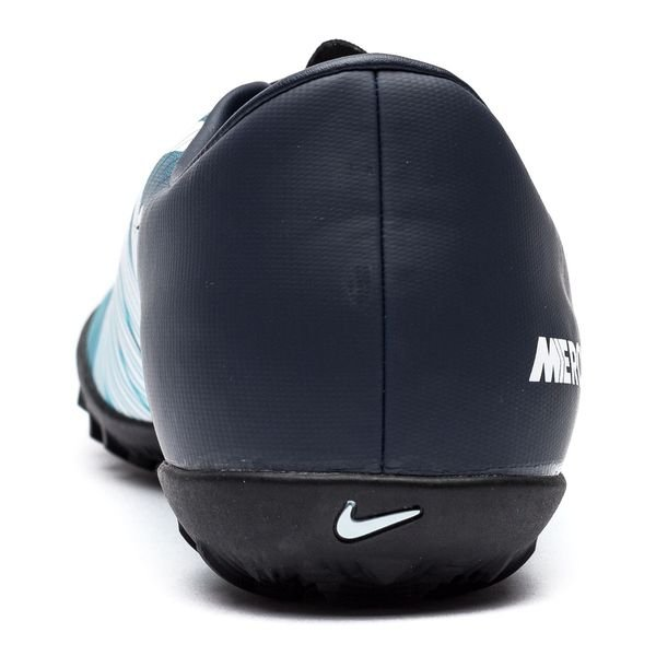 online retailer 7fca6 14653 ... nike mercurialx victory vi tf ice - bleu foncéblancbleu - chaussures  de ...