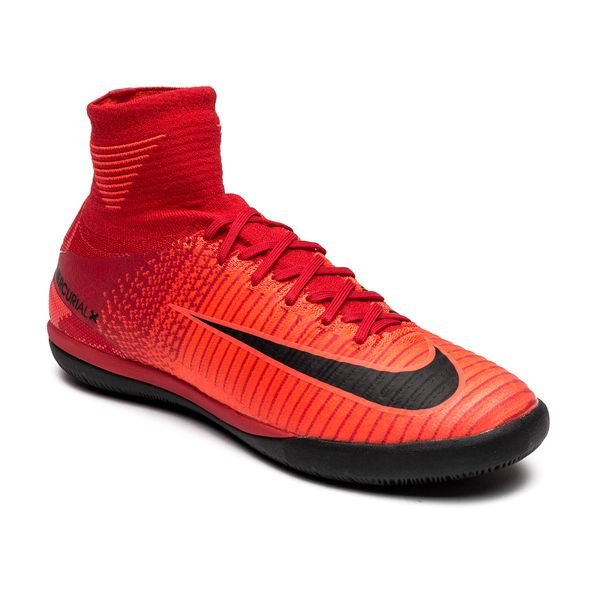 ... nike mercurialx proximo ii df ic fire - university red/black kids - indoor  shoes ...