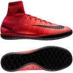 Nike MercurialX Proximo II DF IC Fire - Rød/Sort Børn