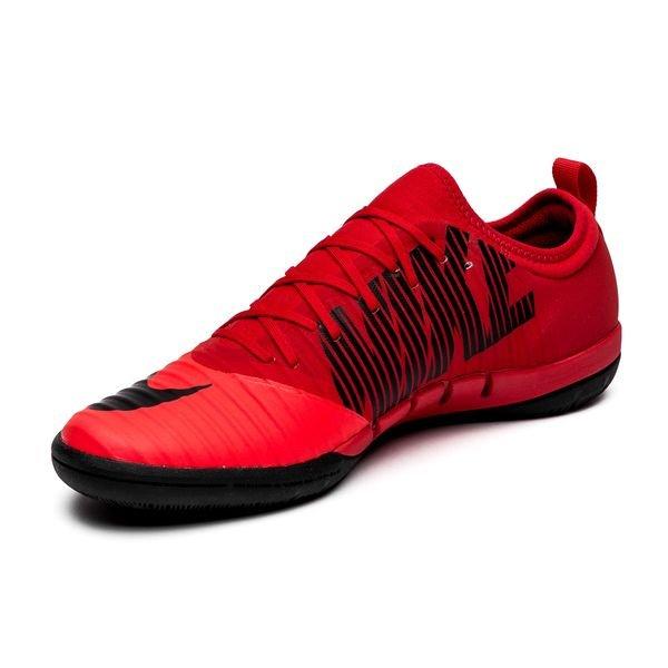 new arrival be3f4 a5fff Nike MercurialX Finale II IC Fire - Röd Svart