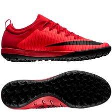 Nike MercurialX Finale II TF Fire - Rood/Zwart