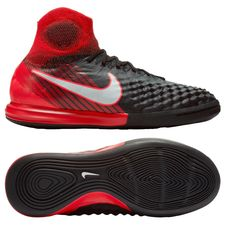 Nike MagistaX Proximo II DF IC Fire - Noir/Blanc/Rouge Enfant
