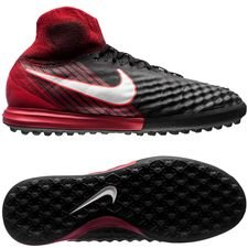 Nike MagistaX Proximo II DF TF Fire - Zwart/Wit/Rood