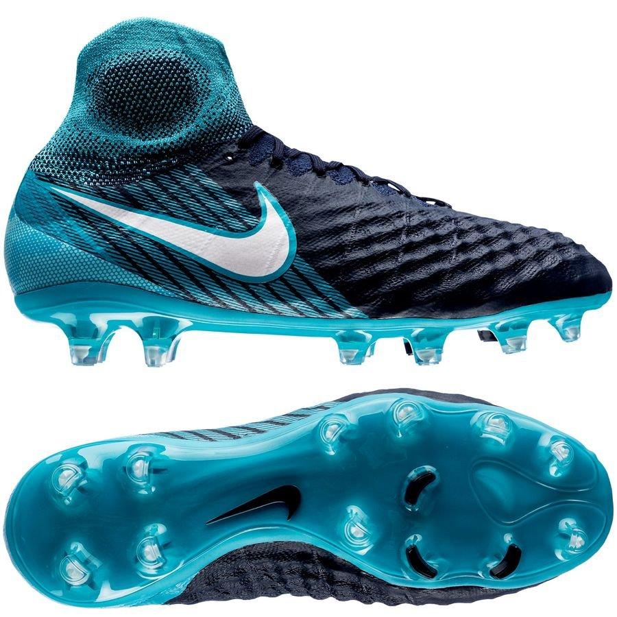 Nike Magista Obra II Nike Magista Obra II FG Ice - Obsidian/White/Gamma Blue Kids | www ...