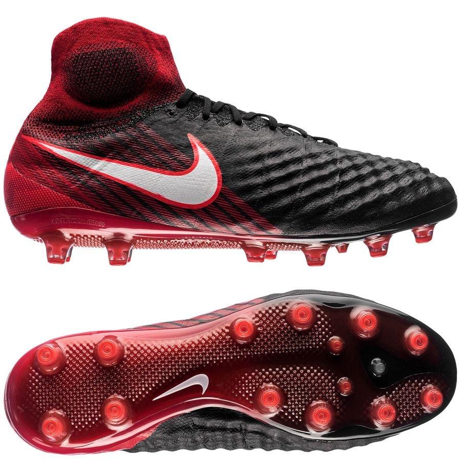 Nike Pro Magista Obra Ii Ag Pro Nike Fire Noir Blanc Rouge a77271