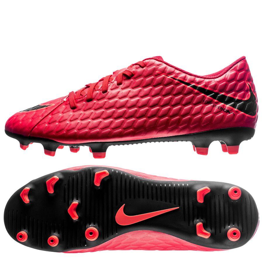 Nike Hypervenom Phade Rød Græs (FG) Mænd