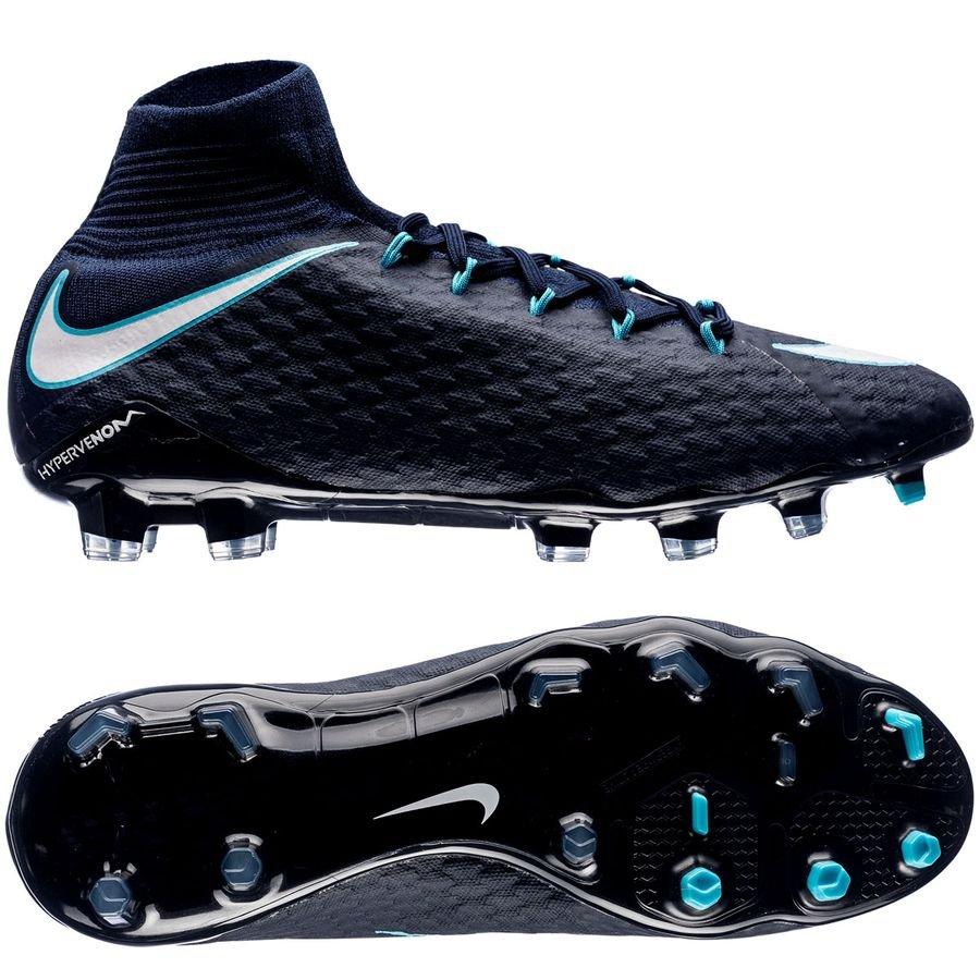 Nike Hypervenom Phatal Blå Græs (FG)