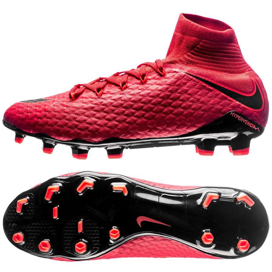 Nike Hypervenom Phatal Rød Græs (FG) Mænd