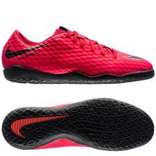 Nike HypervenomX Phelon 3 IC Fire - Rood/Zwart