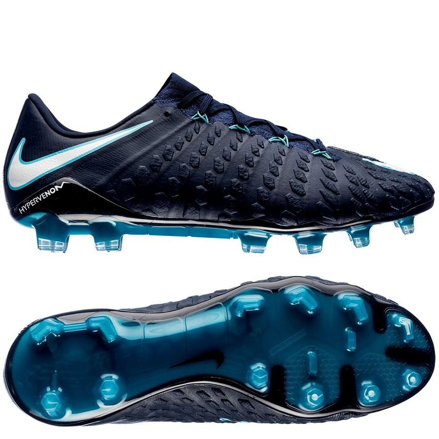 Nike Hypervenom Phantom Blå Græs (FG)