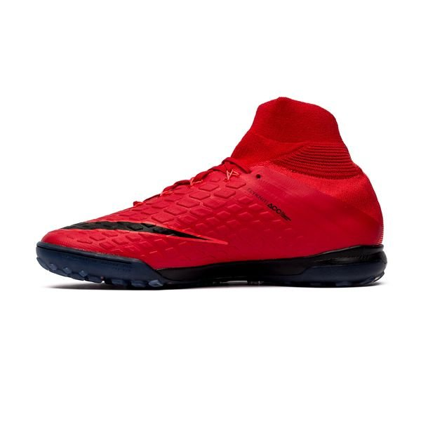 ... nike hypervenomx proximo ii df tf fire - rood/wit - voetbalschoenen ...