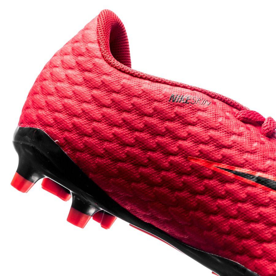 release date: 69751 e0782 Nike Hypervenom Phelon 3 FG Fire - University Red Black Kids    www.unisportstore.com