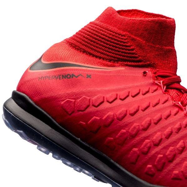 best sneakers 5ec50 a6391 Nike HypervenomX Proximo II DF TF Fire - Rød Sort Barn 9