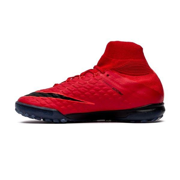 outlet store de8fe b9d44 Nike HypervenomX Proximo II DF TF Fire - Rød Sort Barn 1