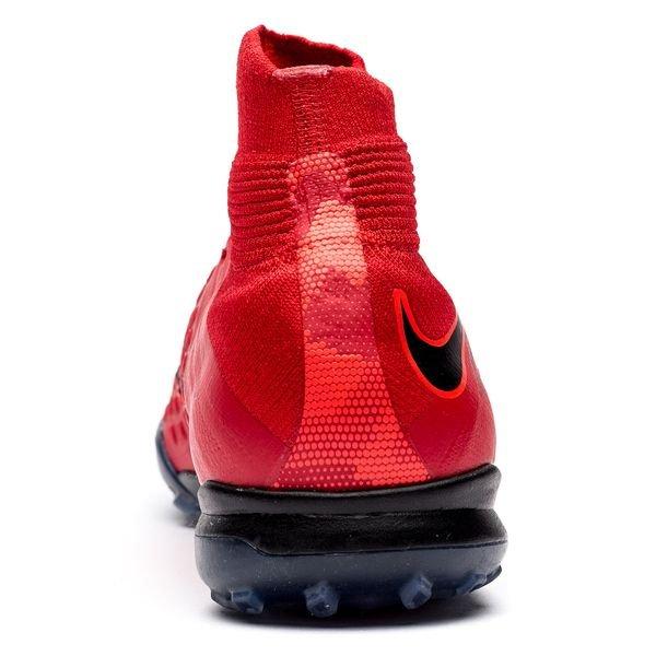 the best attitude ea705 7d204 Nike HypervenomX Proximo II DF TF Fire - Rød Sort Barn 2