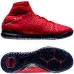 Nike HypervenomX Proximo II DF IC Fire - Rød/Sort Børn