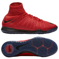 Nike HypervenomX Proximo II DF IC Fire - University Red/Black Kids PRE-ORDER