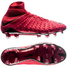 Nike Hypervenom Phantom 3 DF FG Fire - University Red/Black