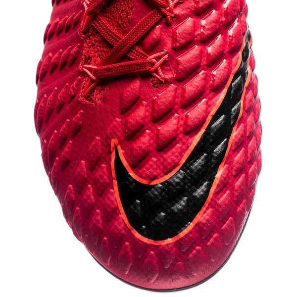 new list new products famous brand Nike Hypervenom Phantom 3 DF FG Fire - Rot/Schwarz