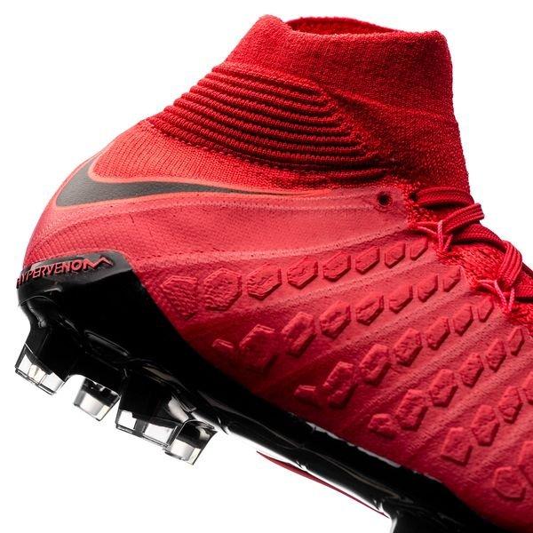 Nike Hyper Venin Feu Fantôme 3 Df Fg - Enfants Rouge / Noir ZEbwlb