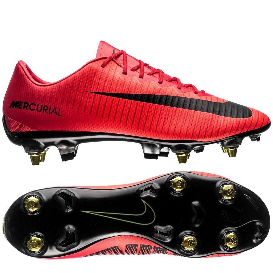 Nike Mercurial Vapor XI SG-PRO Anti-Clog Fire - University Red Black ... 8840d7e7dc9b