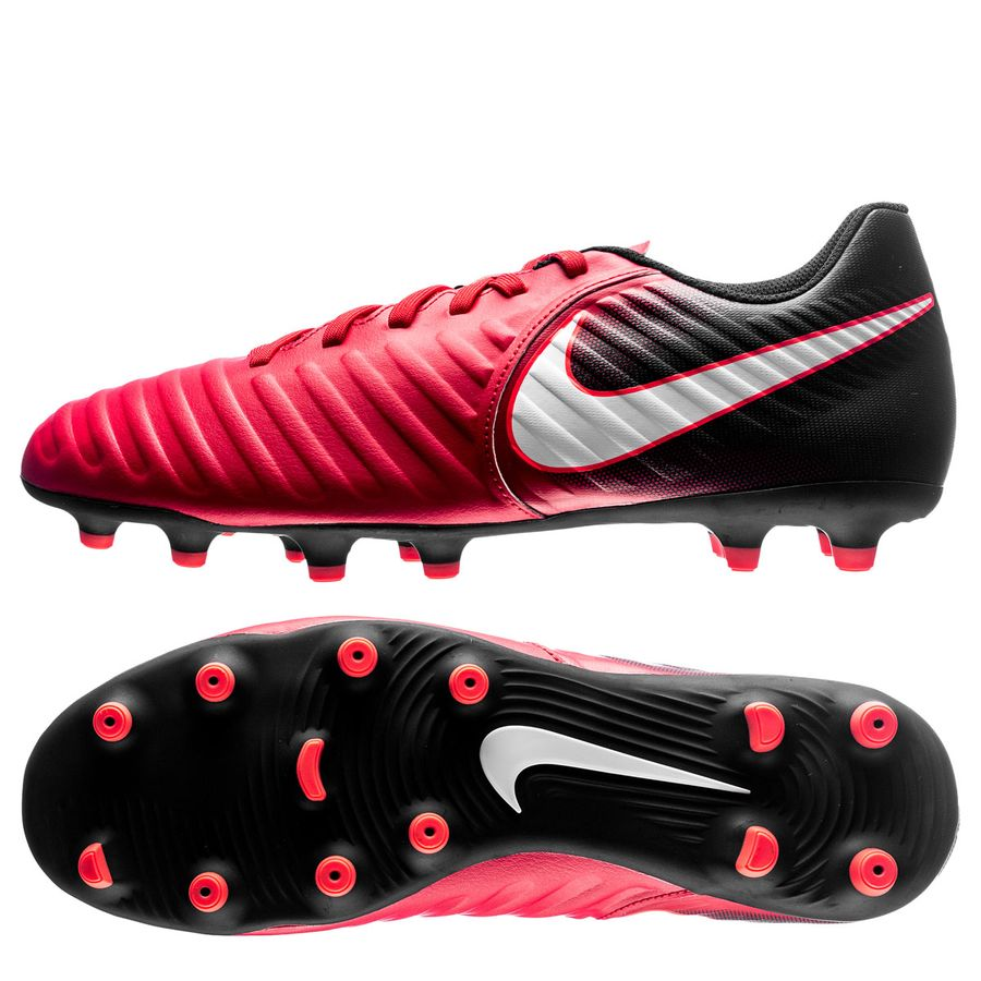 2ee3dc6abb47 nike tiempo rio iv fg fire - university red white black - football boots ...