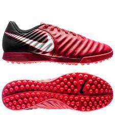 Nike TiempoX Ligera IV TF Fire - Röd/Vit/Svart